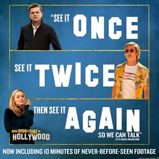 Why see it ONCE when you can see it twice? #OnceInHollywood is back at #CinergyAmarillo, #CinergyOdessa and #CinergyMidland with even more footage! 👉 Don't miss out, get your tickets now in our bio link.  #CinergyOdessa #OdessaTX #Odessa #CinergyMidland #MidlandTX #Midland #CinergyAmarillo #AmarilloTX #Amarillo #Cinergy #PermianBasin #AmarilloTexas